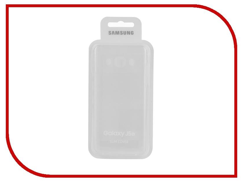Аксессуар Чехол Samsung Galaxy J5 2016 Slim Cover Transparent EF-AJ510CTEGRU<br>