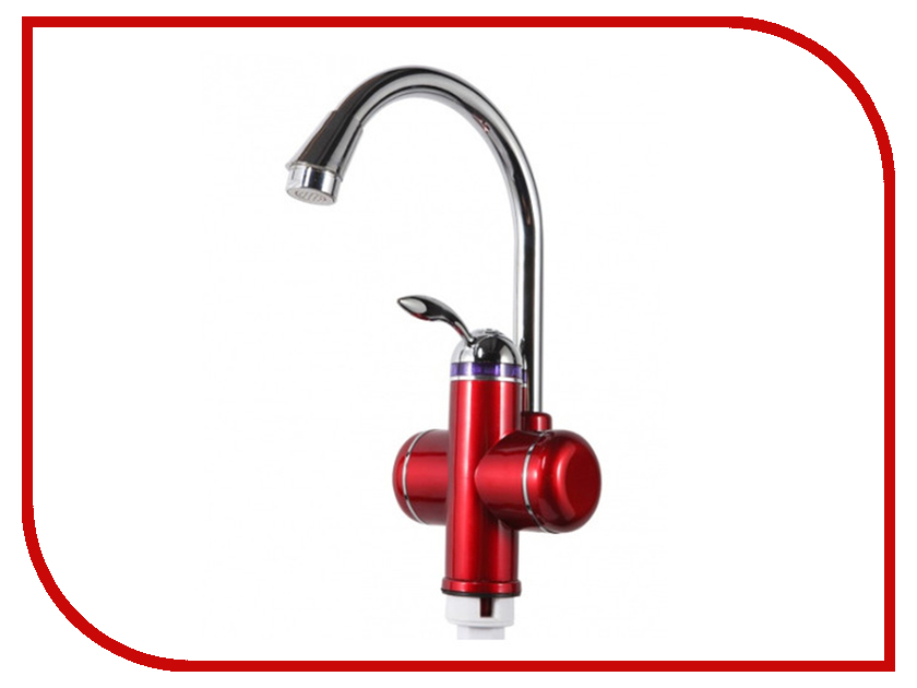 Кран мгновенного нагрева воды Акватерм КА-001R Red