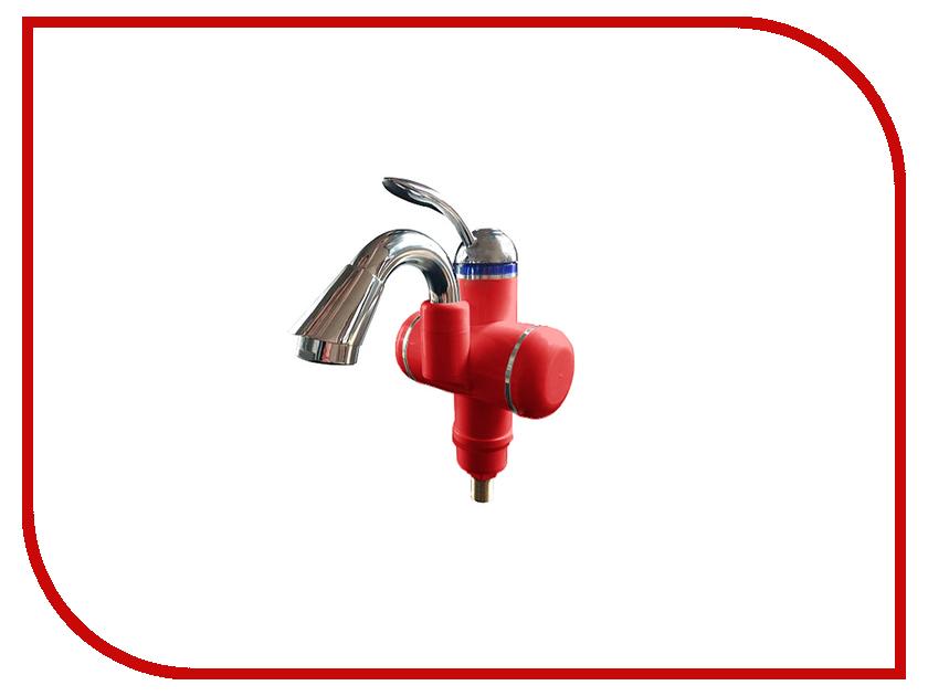 Кран мгновенного нагрева воды Акватерм КА-003R Red