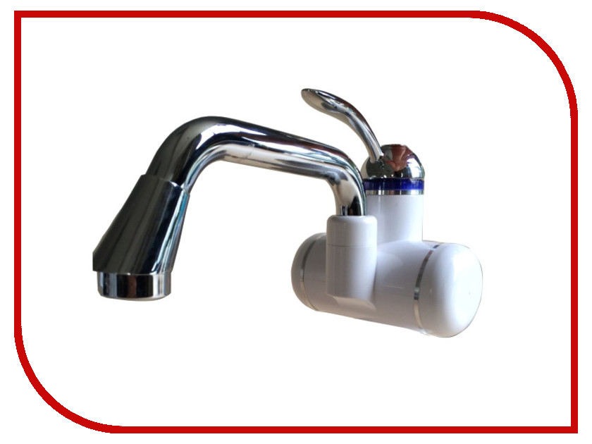 Кран мгновенного нагрева воды Акватерм КА-004W White