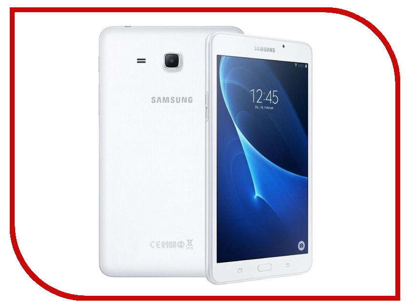 Планшет Samsung SM-T280 Galaxy Tab A 7.0 - 8Gb Silver T280NZSASER Quad Core 1.3 GHz/1536Mb/8Gb/Wi-Fi/Bluetooth/Cam/7.0/1280x800/Android