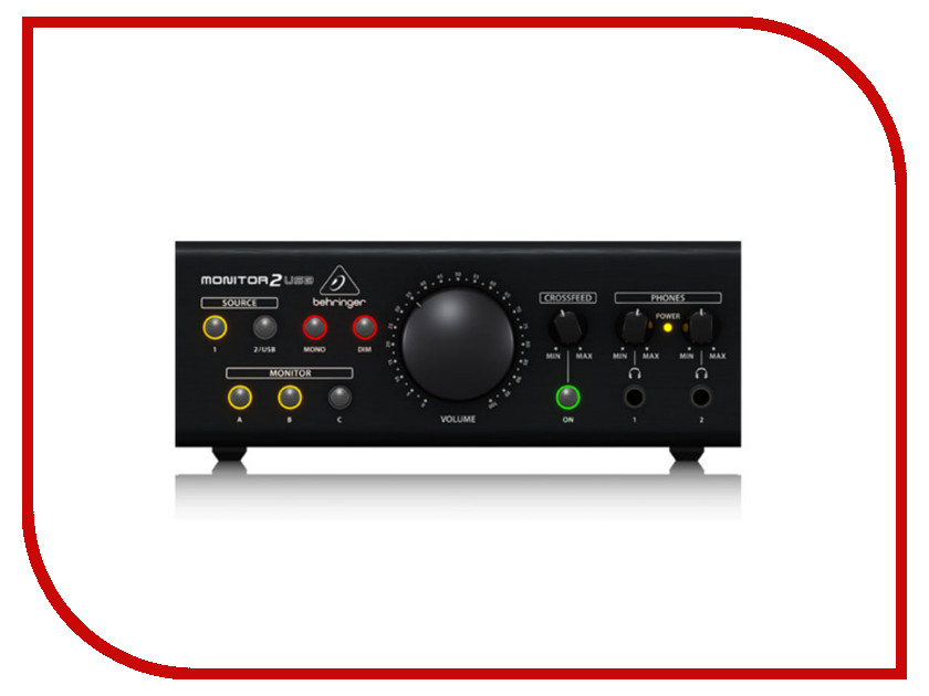 MIDI-контроллер Behringer MONITOR2USB колонка behringer digital monitor speakers ms20