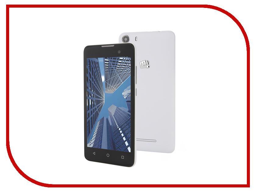 Сотовый телефон Micromax Q334 Canvas Magnus White<br>