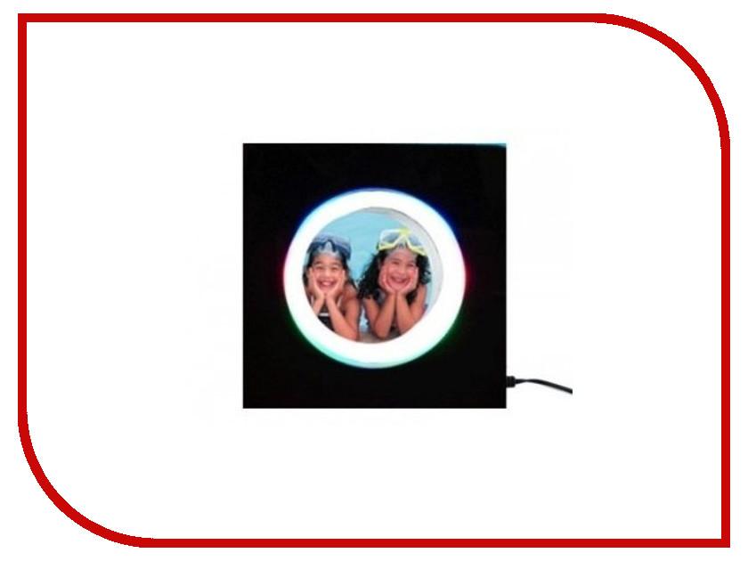 Глобус СмеХторг Фоторамка Электромагнитная круглая в квадратном светильнике