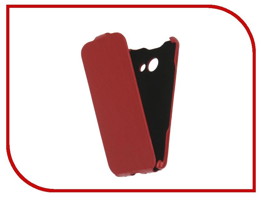 Аксессуар Чехол Samsung Galaxy A3 2016 iBox Premium Red<br>