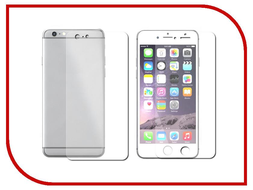 Аксессуар Защитная пленка LuxCase для APPLE iPhone 6 Plus 5.5 Front&amp;Back прозрачная На весь экран 88009<br>