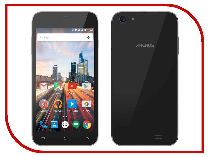Сотовый телефон Archos 55 Helium Plus Black