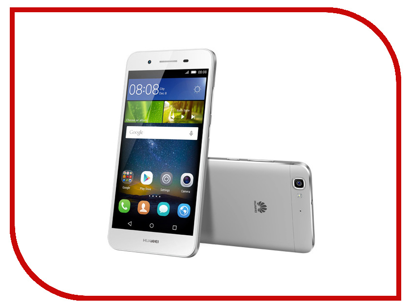 Сотовый телефон Huawei GR3 Silver<br>
