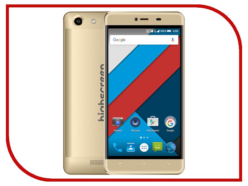 Сотовый телефон Highscreen Power Rage Gold<br>