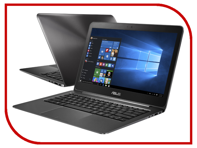 Ноутбук ASUS Zenbook UX305CA-FC119T Black Metal 90NB0AA1-M04820 Intel Core M3-6Y30 900 MHz/8192Mb/128Gb SSD/No ODD/Intel HD Graphics/Wi-Fi/Bluetooth/Cam/13.3/1920x1080/Windows 10 64-bit<br>