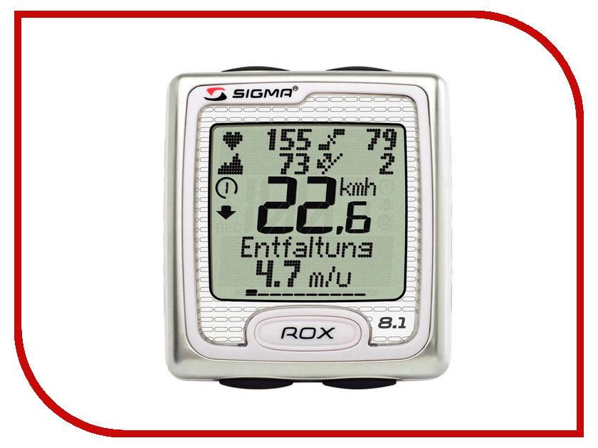 Велокомпьютер Sigma Rox 8.1 sigma 015