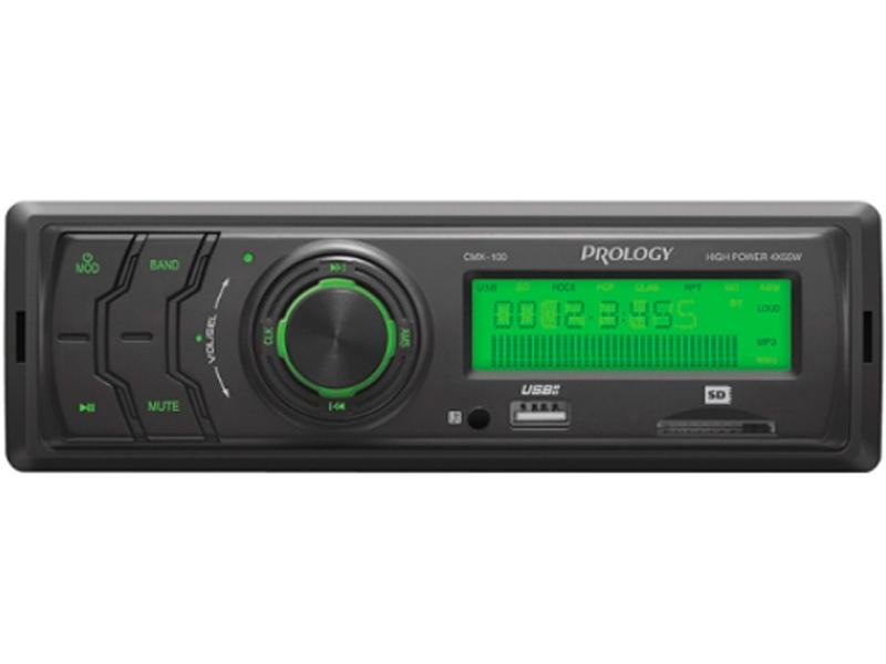 Автомагнитола Prology CMX-100 портативный автонавигатор prology imap 4800 black навител
