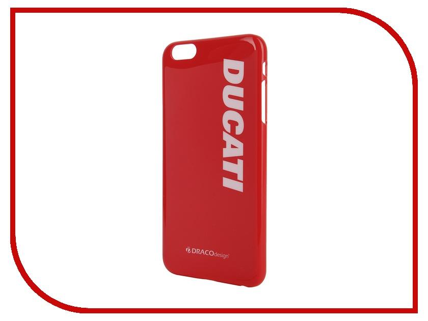 Аксессуар Чехол DRACO Ducati 6 P для iPhone 6 Plus Red DR60DUP4-RDUL<br>