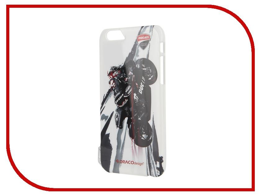 Аксессуар Чехол DRACO Ducati 6 P для iPhone 6 Moto GP2 Black DR60DUP4-DMG2<br>