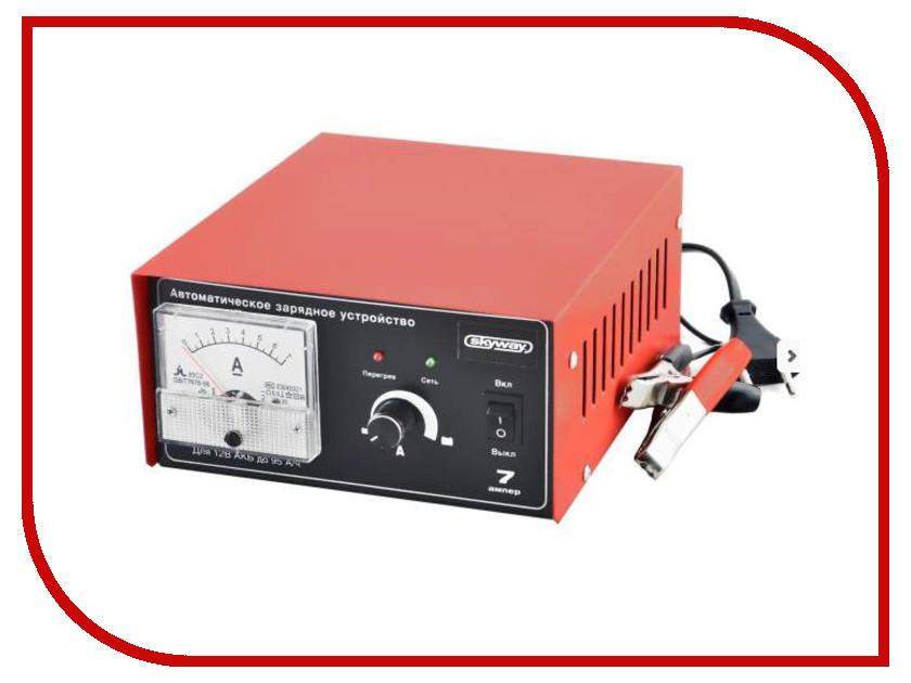 Зарядное устройство для автомобильных аккумуляторов SKYWAY S03801001<br>