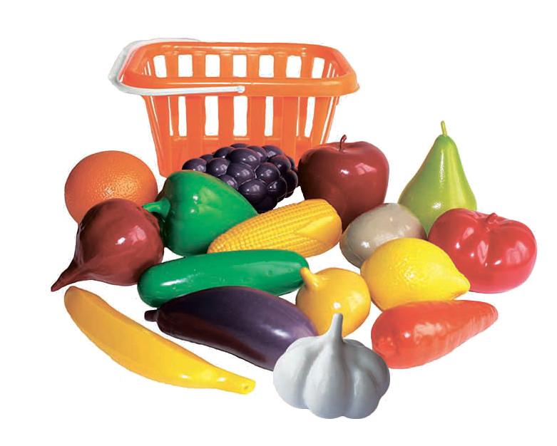 Игровой набор Совтехстром Фрукты и овощи У758