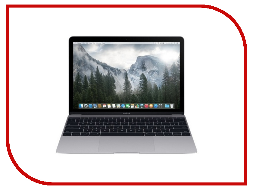 Ноутбук Apple MacBook 12 MLH82RU/A Space Gray Intel Core M5 1.2 GHz/8192Mb/512Gb SSD/No ODD/Intel HD Graphics/Wi-Fi/Bluetooth/Cam/12.0/2304x1440/Mac OS X ноутбук apple macbook pro 13 space grey mlh12ru a intel core i5 2 9 ghz 8192mb 256gb intel iris graphics 550 wi fi bluetooth cam 13 3 2560x1600 mac os