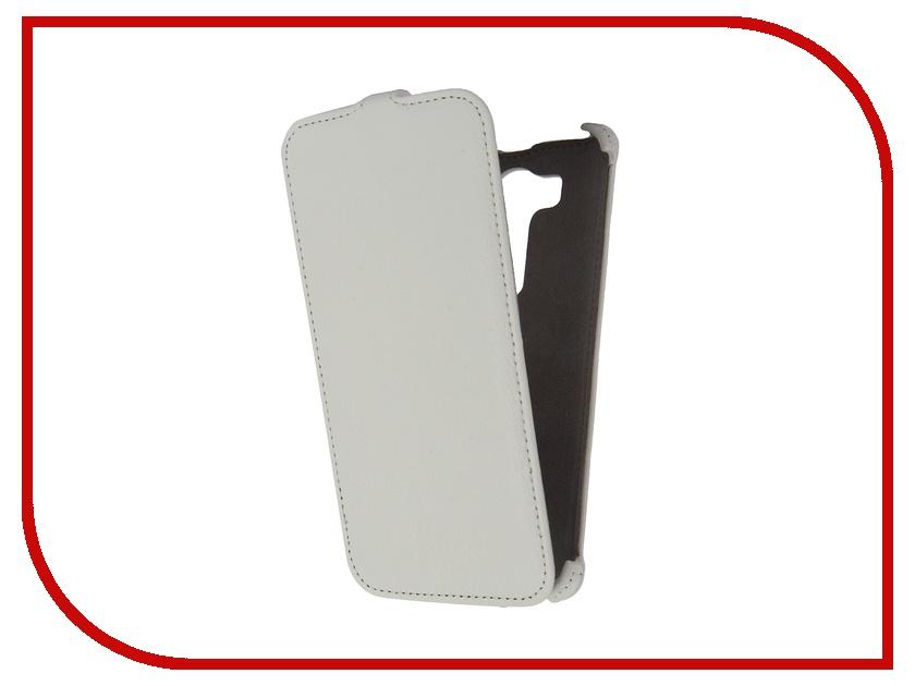 ��������� ����� LG V10 H961 Activ Flip Case Leather White 57481