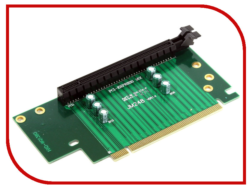 Аксессуар Espada PCI-E X16 M to PCI-E X16 F 4U EPCIE164U<br>