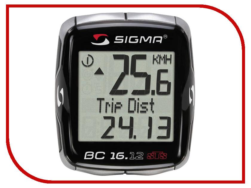 Велокомпьютер Sigma BC 16.12 STS NSI06130