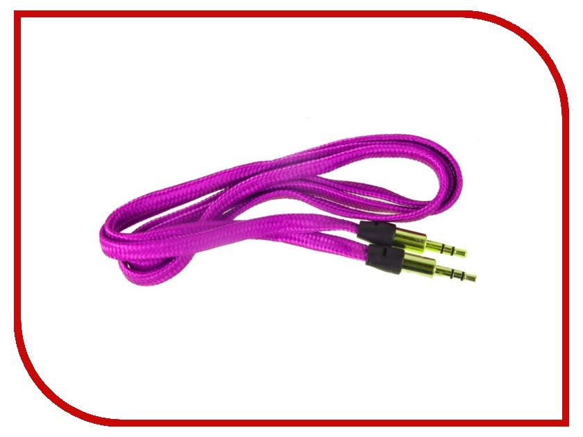Аксессуар Activ AU101 3.5 Jack/M - 3.5 Jack/M 100cm Purple 48662