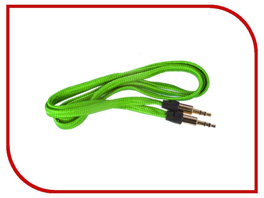 Аксессуар Activ AU101 3.5 Jack/M - 3.5 Jack/M 100cm Green 48659