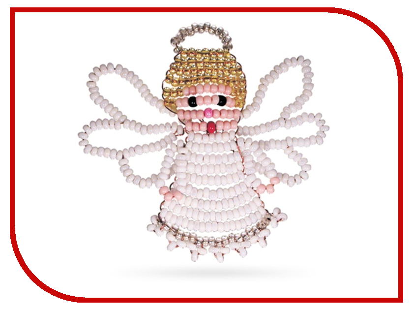 Набор для творчества Кроше Ангелок для бисероплетения А071<br>