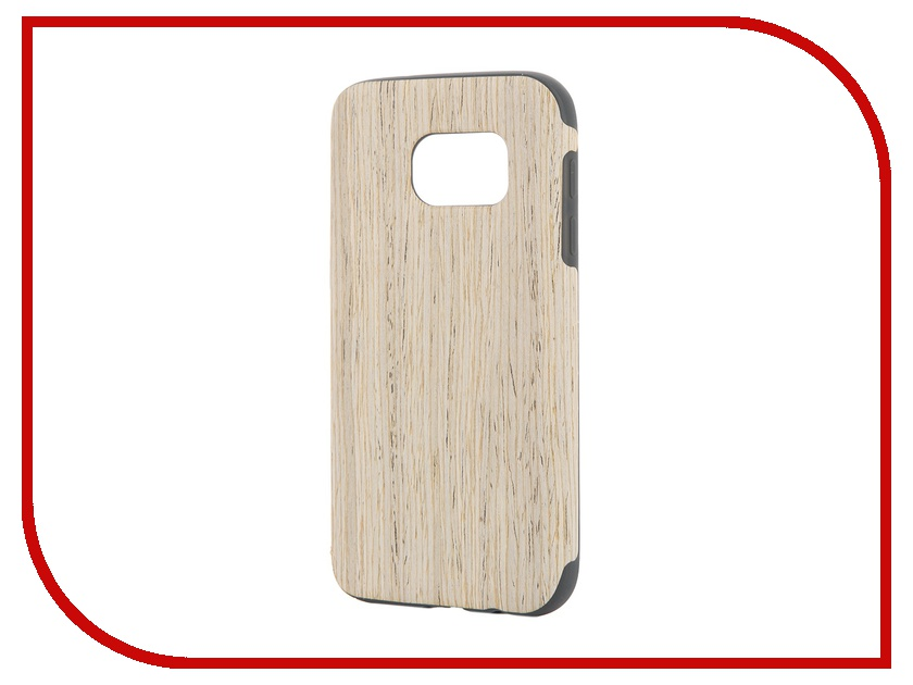 Аксессуар Чехол-накладка Samsung Galaxy S7 ROCK Origin Series Nordic Walnut<br>