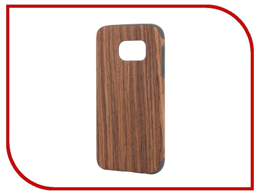 Аксессуар Чехол-накладка Samsung Galaxy S7 ROCK Origin Series Rosewood<br>