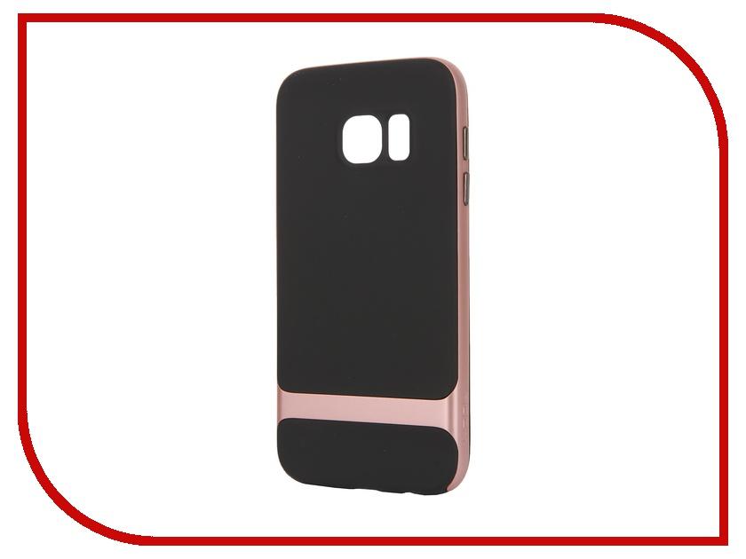 Аксессуар Чехол-накладка Samsung Galaxy S7 ROCK Royce Case Gold<br>