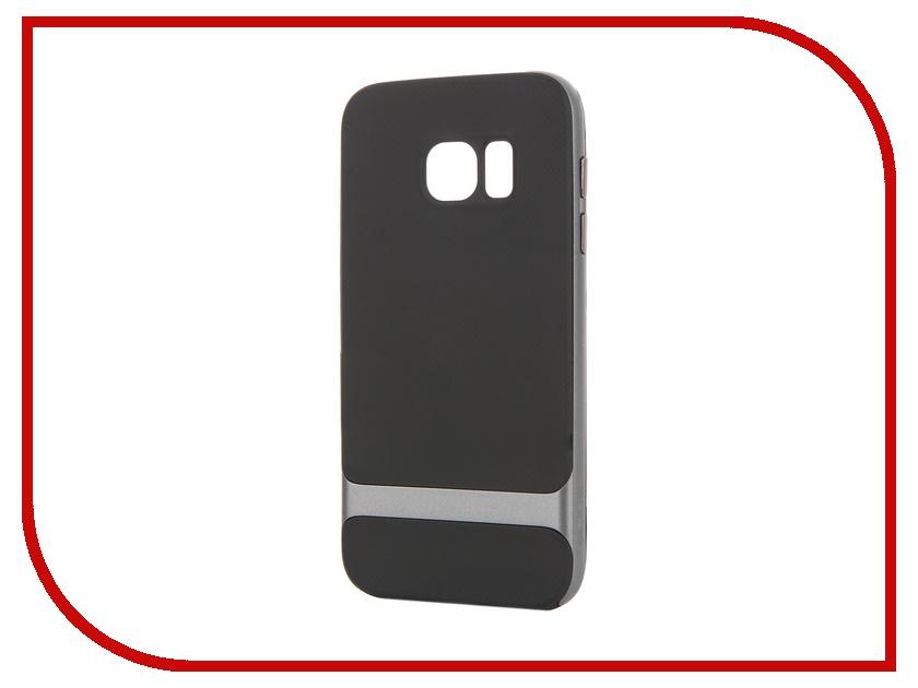 Аксессуар Чехол-накладка Samsung Galaxy S7 ROCK Royce Case Iron Grey<br>