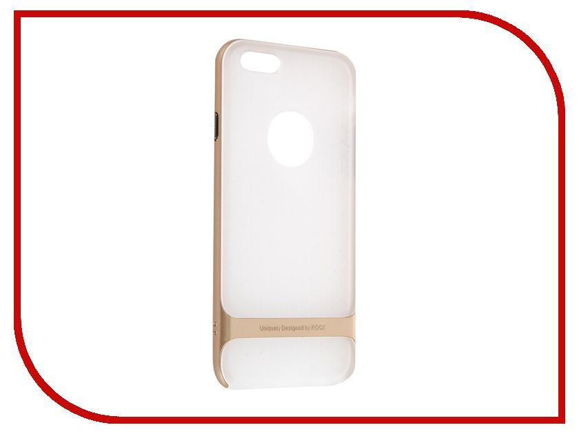 ��������� ����� ROCK Royce Series ��� APPLE iPhone 6/6S 4.7 Transparent-Golden