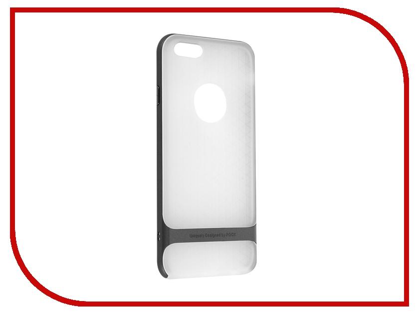 Аксессуар Чехол ROCK Royce Series для APPLE iPhone 6/6S 4.7 Transparent-Grey<br>