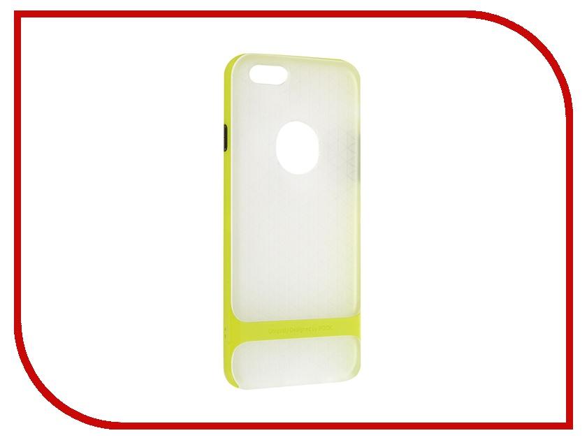 Аксессуар Чехол ROCK Royce Series для APPLE iPhone 6/6S 4.7 Transparent-Green<br>