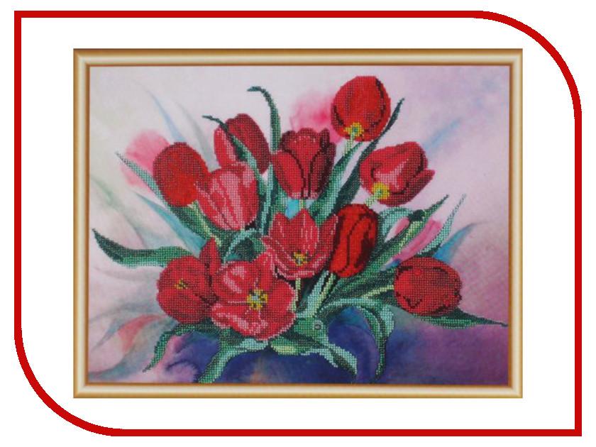 Набор для творчества Hobby&amp;Pro Тюльпаны для вышивания бисером БН-3099<br>
