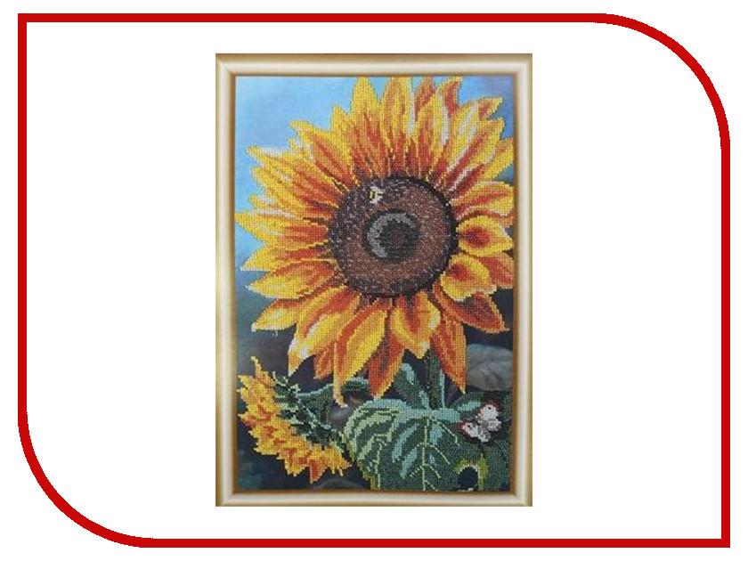 Набор для творчества Hobby&Pro Цветок солнца для вышивания бисером БН-3122 набор для вышивания hobby