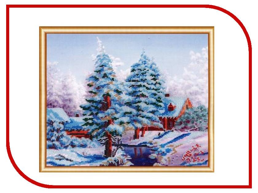 Набор для творчества Hobby&Pro Сударыня зима для вышивания бисером БН-3131