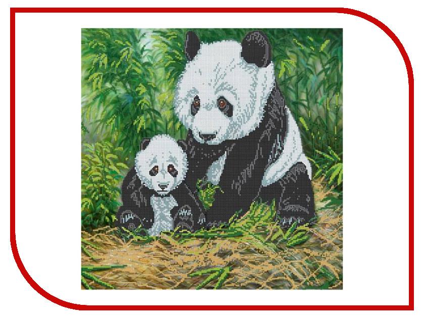 Набор для творчества Hobby&amp;Pro Панды для вышивания бисером БН-3159<br>