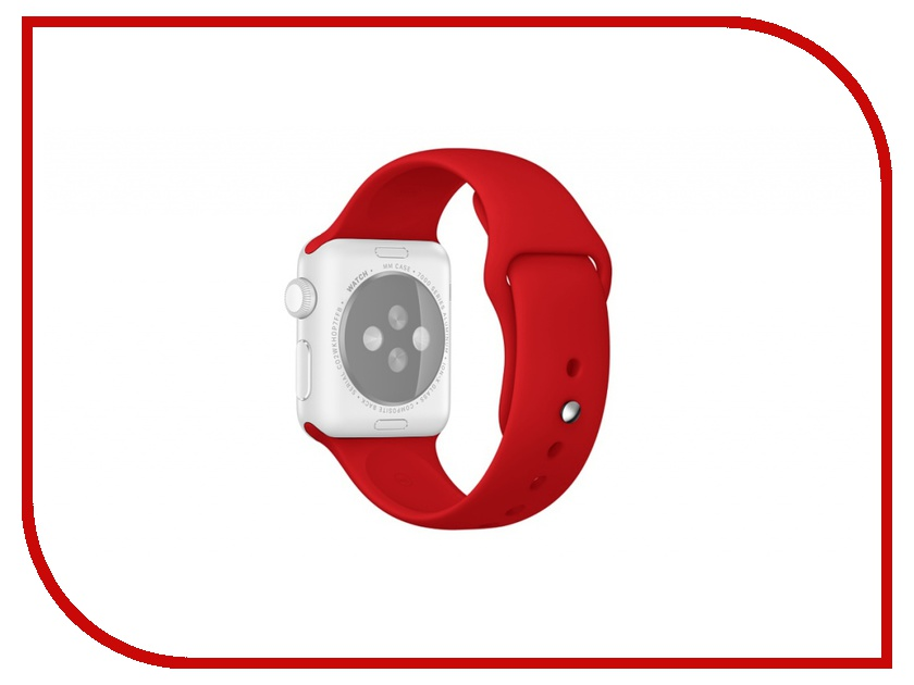 Аксессуар Ремешок APPLE Watch 42mm ROCK Sport Band Red<br>
