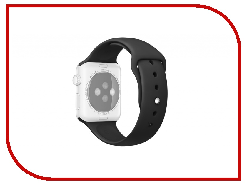 Аксессуар Ремешок Rock APPLE Watch 38mm Sport Band Black