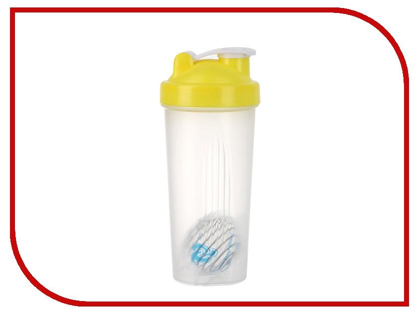 Спортивный Элемент Шейкер 600ml Transparent-Yellow S01-600<br>