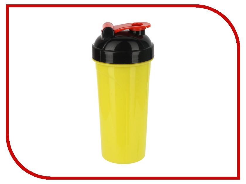 Спортивный Элемент Шейкер 700ml Yellow-Black S02-700<br>