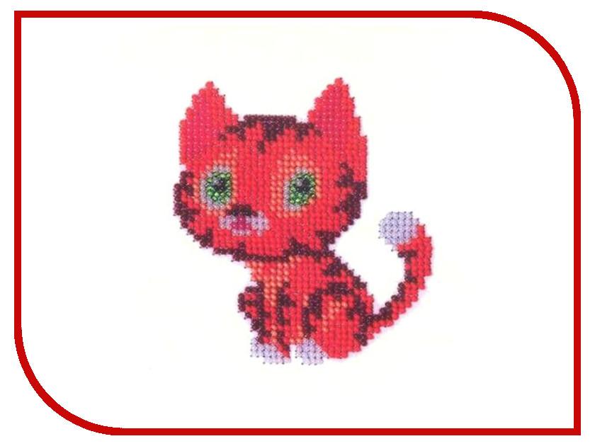 Набор для творчества Бисеринка для вышивания бисером Б-0012 набор для вышивания бисером бисеринка солнышко 9 см х 11 см