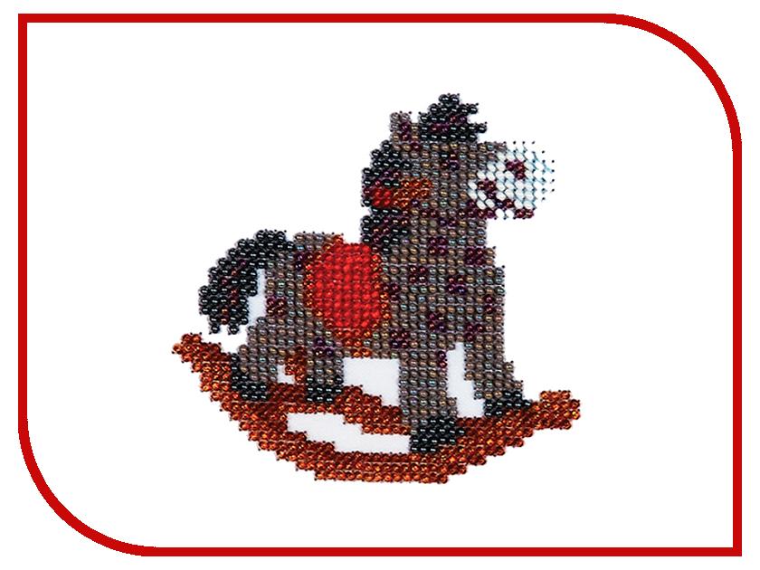 Набор для творчества Бисеринка Лошадка для вышивания бисером Б-0017<br>