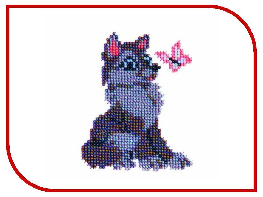 Набор для творчества Бисеринка Волчонок для вышивания бисером Б-0019