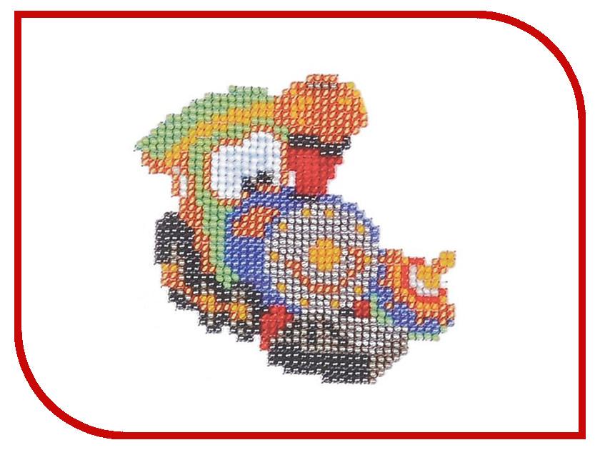 Набор для творчества Бисеринка Паровозик для вышивания бисером Б-0022