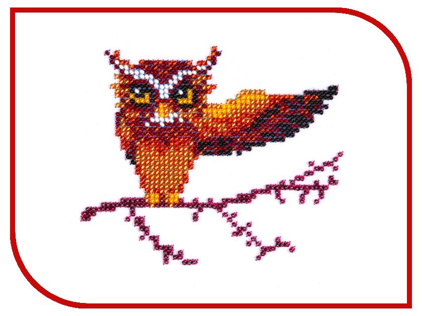 Набор для творчества Бисеринка Сова для вышивания бисером Б-0025