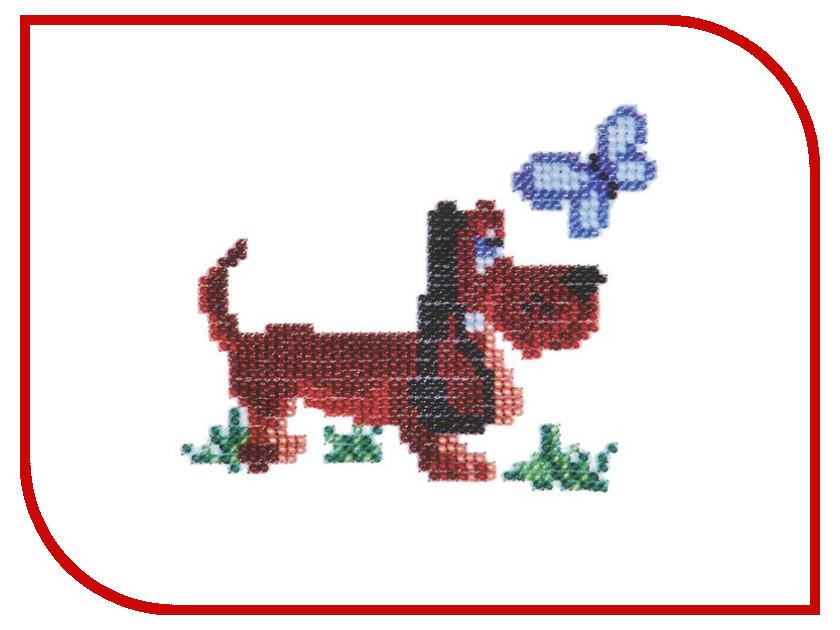 Набор для творчества Бисеринка Собачка для вышивания бисером Б-0029