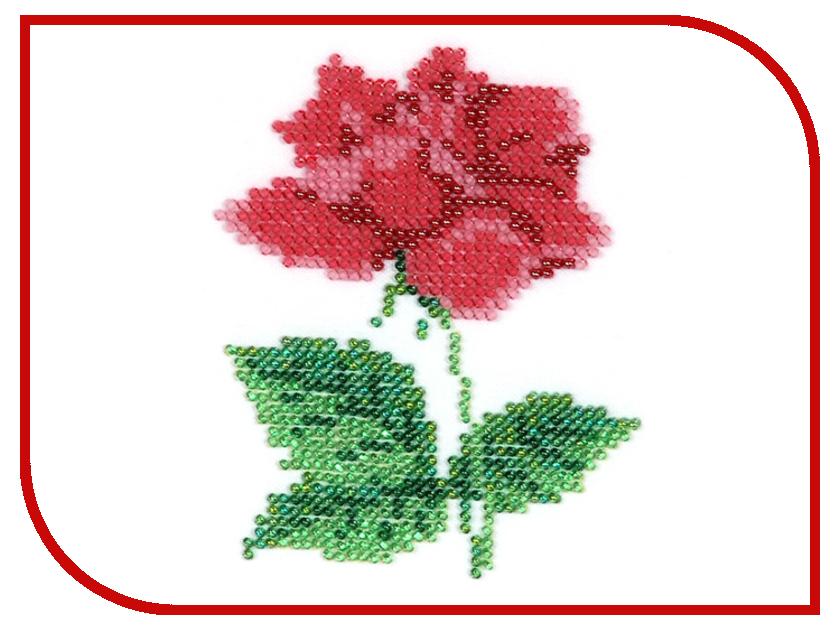 Набор для творчества Бисеринка Роза для вышивания бисером Б-0041