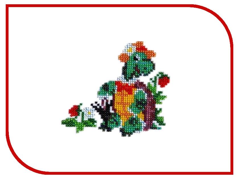 Набор для творчества Бисеринка для вышивания бисером Б-0059 мягкая игрушка trolls тролль пушистик fuzzbert